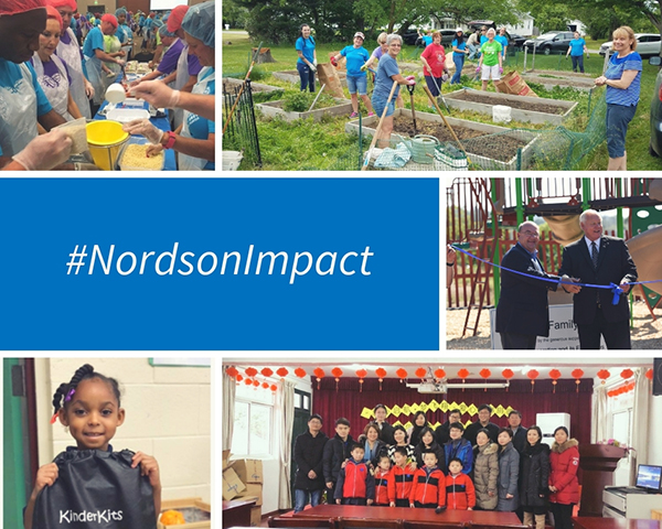 Nordson Impact Collage