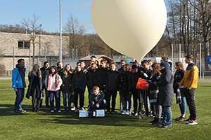 German Students Send Balloon into Space with Help from Nordson.