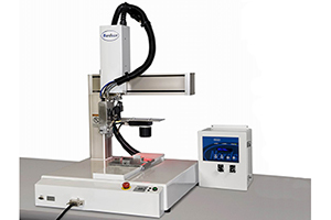 Automated adhesive application for accurate hot melt dispensing with excellent repeatability for increased production efficiency.