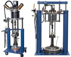 Rhino bulk unloaders for high-viscosity, ambient temperature pumping