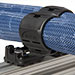 Blue Series™ hoses with RediFlex™ II mounting system for adhesive application and dispensing