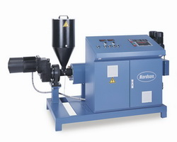 EEX extruders simplify homogeneous melting of hot melt granules