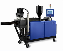 EX series extruders for specialized hot melt adhesives