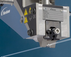 SureWrap nozzles improve elastic attachment on nonwovens products