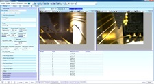 On board camera live images during testing
