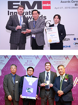 Nordson EFD's PICO® Pµlse™ Jet Dispensing System Wins EM Asia Innovation Award and SMT China VISION Award