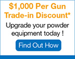 Upgrade your powder equipment today !