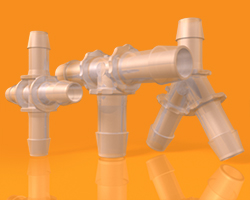 Bioprocessing Fittings - Large Tube-to-Tube