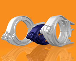 Bioprocessing Fittings - PharmaLok Clamps