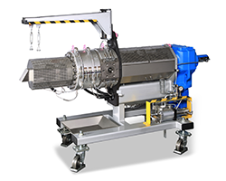 Fundamentally New Filtration System for Highly Contaminated Plastics