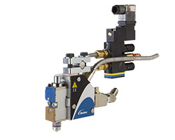 SureBead® reduced cavity guns and modules produce clean patterns and deliver sharp cutoff